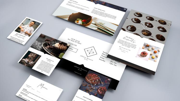 Web layouts showcase