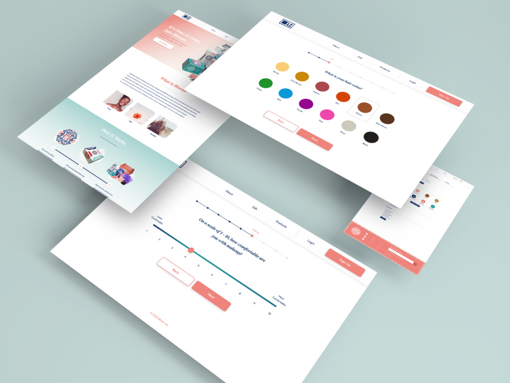 screen layouts