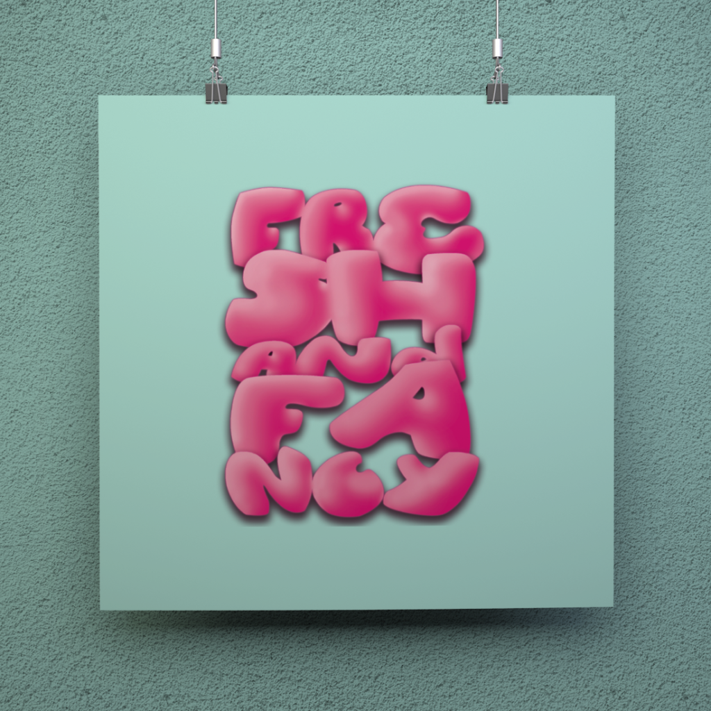 hand-done typography